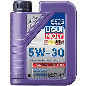 картинка LIQUI MOLY Synthoil High Tech 5W-30 | 100% ПАО синтетика